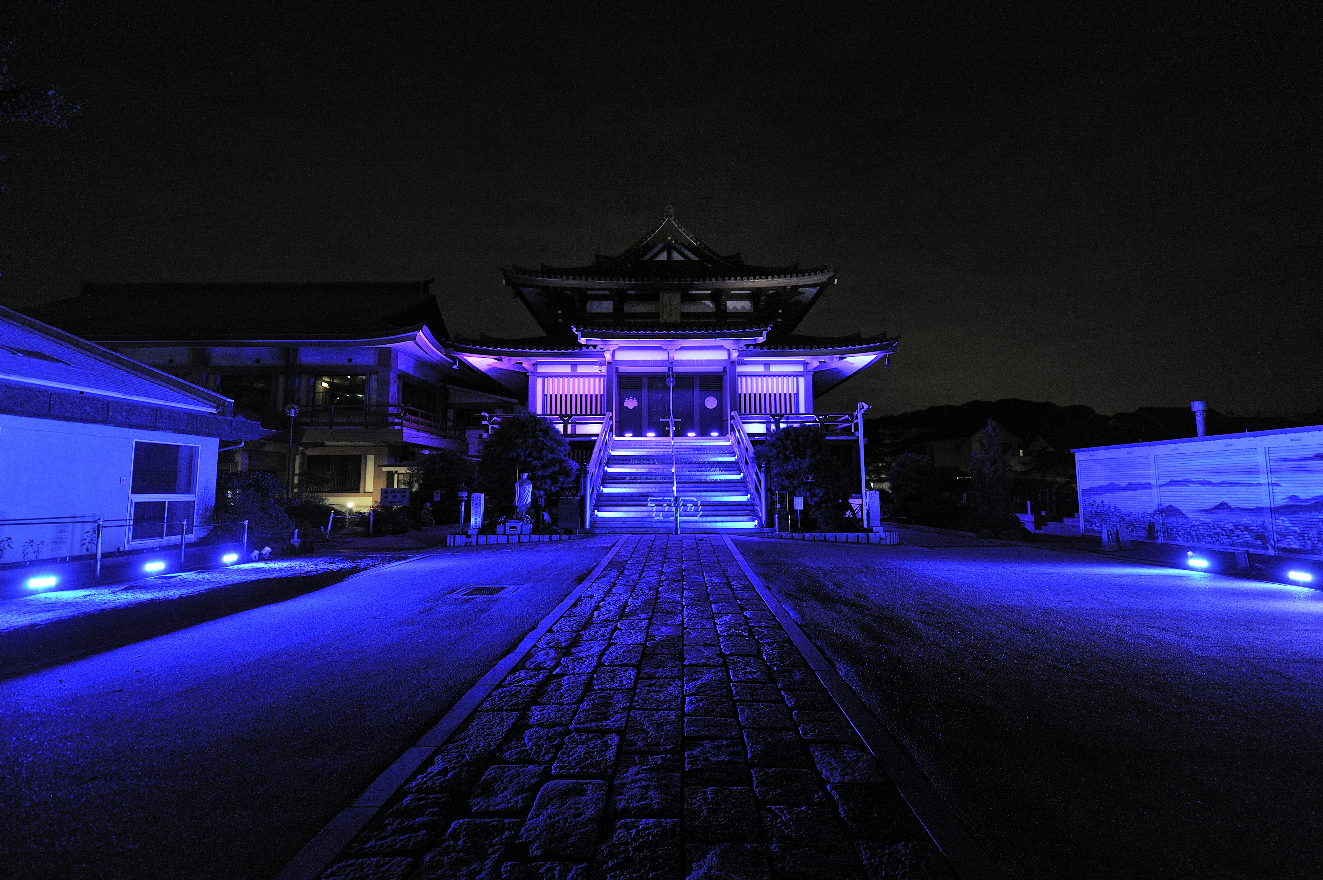 MEDI-ARTz逗子 延命寺あかり計画